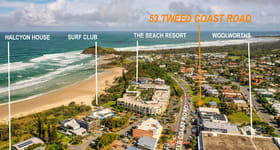 Development / Land commercial property sold at 53 Tweed Coast Road Cabarita Beach NSW 2488