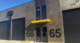 Factory, Warehouse & Industrial commercial property sold at 66/2 Thomsons Road Keilor Park VIC 3042