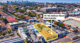 Development / Land commercial property sold at 94-98 Addison Road Marrickville NSW 2204