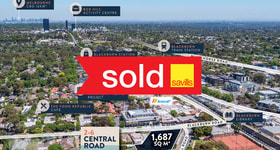 Development / Land commercial property sold at 2-6 Central Road Blackburn VIC 3130