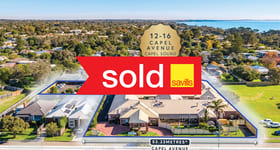 Medical / Consulting commercial property sold at 12-16 Capel Avenue Capel Sound VIC 3940