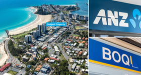 Shop & Retail commercial property sold at ANZ & BOQ Banks 24-28 Griffith Street Coolangatta QLD 4225