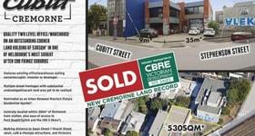 Development / Land commercial property sold at 4-6 Cubitt Street Cremorne VIC 3121