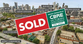 Development / Land commercial property sold at 143 & 145-147 Rosslyn Street West Melbourne VIC 3003