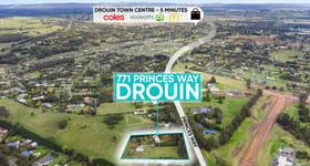 Development / Land commercial property for sale at 771 Princes Way Drouin VIC 3818