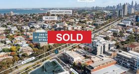 Development / Land commercial property sold at 344-360 St Kilda Road St Kilda VIC 3182