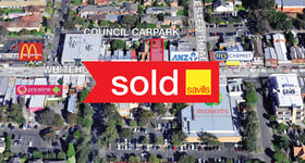 Shop & Retail commercial property sold at 296 & 296A Whitehorse Road Balwyn VIC 3103