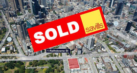 Offices commercial property sold at 1 Rathdowne Street Carlton VIC 3053