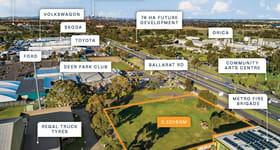 Development / Land commercial property for sale at 780B Ballarat Road Deer Park VIC 3023