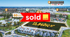 Development / Land commercial property sold at 60 Gorge Road South Morang VIC 3752
