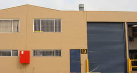 Factory, Warehouse & Industrial commercial property sold at 13/272-274 Victoria Street Wetherill Park NSW 2164