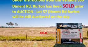 Development / Land commercial property sold at Waterloo Corner Road Burton SA 5110