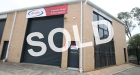 Factory, Warehouse & Industrial commercial property sold at 10/6 Jindalee Place Riverwood NSW 2210