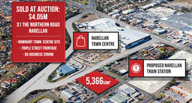 Development / Land commercial property sold at 31 The Northern Road Narellan NSW 2567
