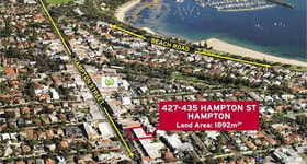 Development / Land commercial property sold at 427 - 435 Hampton Street Hampton VIC 3188