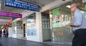 Medical / Consulting commercial property leased at Level 1/179 Burwood Road Burwood NSW 2134