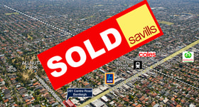 Development / Land commercial property sold at 261 Centre Road Bentleigh VIC 3204