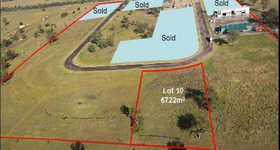 Development / Land commercial property sold at Lot 10 25-27 Enterprise Crescent Muswellbrook NSW 2333