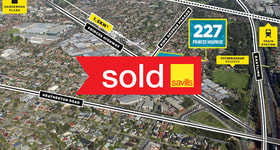Development / Land commercial property sold at 227 Princes Highway Dandenong VIC 3175