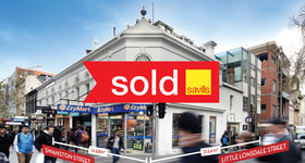 Showrooms / Bulky Goods commercial property sold at 319-325 Swanston Street Melbourne VIC 3000