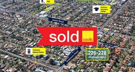 Development / Land commercial property sold at 226-228 McKinnon Road Mckinnon VIC 3204