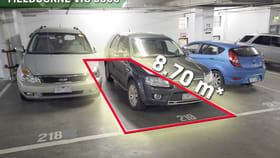 Parking / Car Space commercial property sold at 219/58 Franklin Street Melbourne VIC 3000