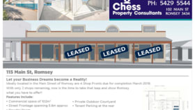 Retail commercial property for lease at 115 Main Street Romsey VIC 3434