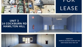 Shop & Retail commercial property for lease at 3/14 Cockburn Road Hamilton Hill WA 6163