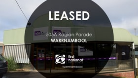 Offices commercial property for lease at 1/505 Raglan Parade Warrnambool VIC 3280
