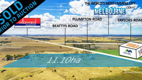 Development / Land commercial property sold at 598 - 632 Beattys Road Plumpton VIC 3335