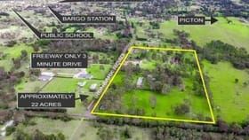 Development / Land commercial property for sale at 65-95 Ironbark Road Bargo NSW 2574