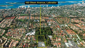 Development / Land commercial property for sale at 103 Olsen Ave Labrador QLD 4215
