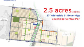 Development / Land commercial property for sale at 23 WHITESIDE STREET Beveridge VIC 3753