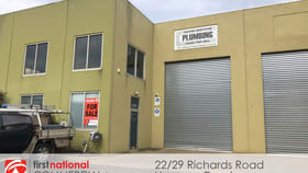 Factory, Warehouse & Industrial commercial property for sale at 22/29 Richards Road Hoppers Crossing VIC 3029