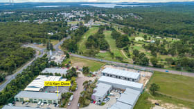 Factory, Warehouse & Industrial commercial property sold at 1/15 Kam Close Morisset NSW 2264
