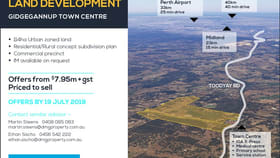 Rural / Farming commercial property for sale at Gidgegannup WA 6083