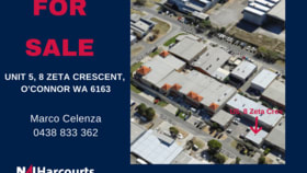 Offices commercial property for sale at 5/8 Zeta Crescent O'connor WA 6163