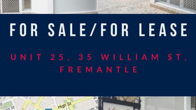 Shop & Retail commercial property for sale at 25/35 William Street Fremantle WA 6160