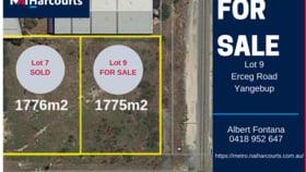 Development / Land commercial property for sale at 7 & 9 Erceg Road Yangebup WA 6164