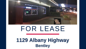 Shop & Retail commercial property for sale at 1129 Albany Hwy Bentley WA 6102