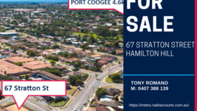 Development / Land commercial property for sale at 67 Stratton Street Hamilton Hill WA 6163