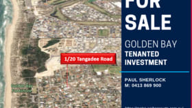 Other commercial property for sale at Unit 1/20 Tangadee Road Golden Bay WA 6174