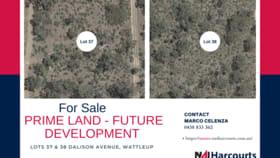 Development / Land commercial property for sale at 37 & 38 Dalison Avenue Wattleup WA 6166
