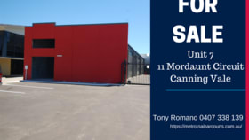 Offices commercial property for sale at 7/11 Mordaunt Circuit Canning Vale WA 6155