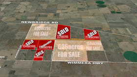 Rural / Farming commercial property for sale at Lots 1-4 Wimmera Highway Woodstock On Loddon VIC 3551