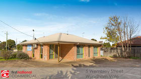 Medical / Consulting commercial property for sale at 5 Wembley Street Wyndham Vale VIC 3024
