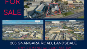 Factory, Warehouse & Industrial commercial property for sale at 206 Gnangara Road Landsdale WA 6065