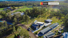 Factory, Warehouse & Industrial commercial property sold at 6 Industrial Close Wingham NSW 2429