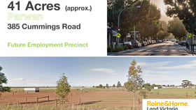 Development / Land commercial property for sale at 385 Cummings Rd Parwan VIC 3340