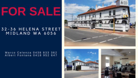 Hotel, Motel, Pub & Leisure commercial property for sale at 32-36 Helena Street Midland WA 6056